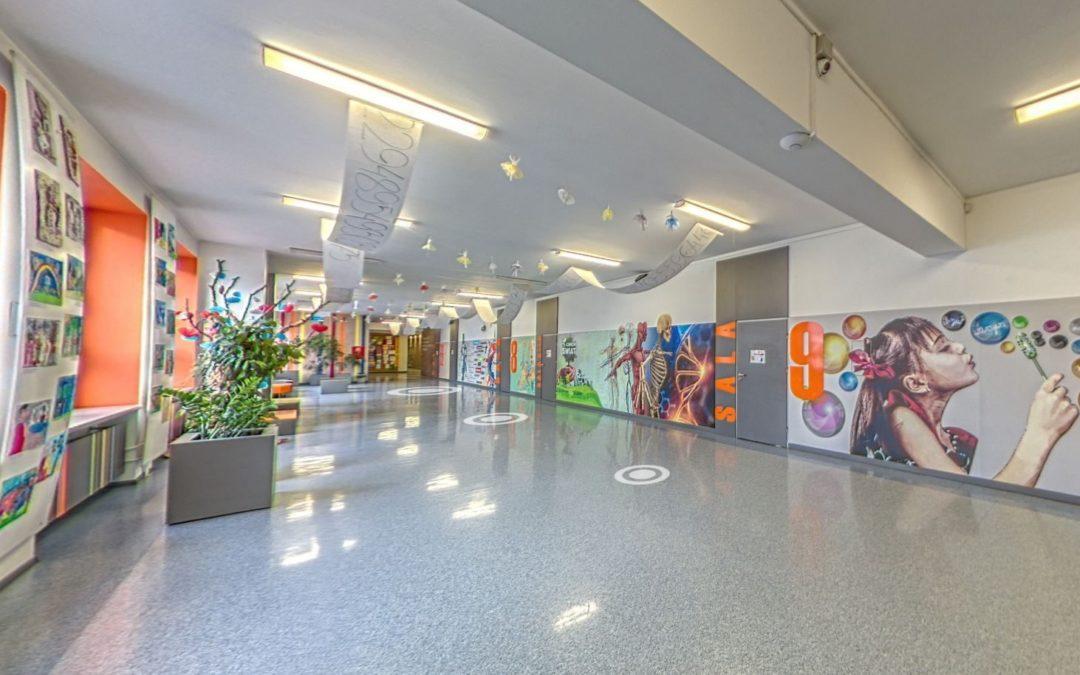 Spacer wirtualny – Szkoła Podstawowa nr 10 w Kaliszu
